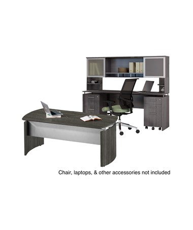 Mayline Medina Series Office Suite 38 MAYMNT38LGS-