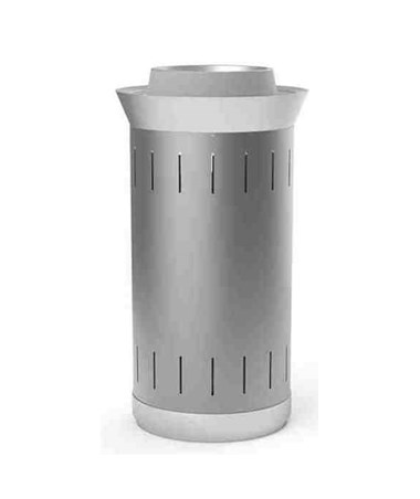Magnuson Group Lausanne Waste Receptacle Stainless Steel