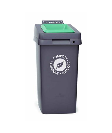 Magnuson Group Re-Square Waste Receptacle MGPRE-SQUARE-10-