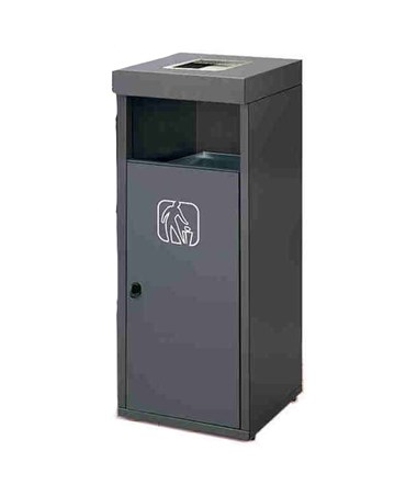 Magnuson Group Retto Waste Receptacle with Ashtray