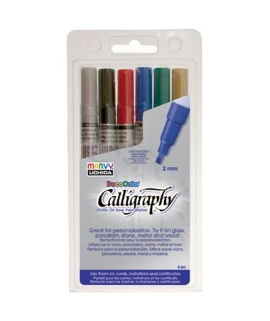 MARVY® Calligraphy Paint Marker MR1255