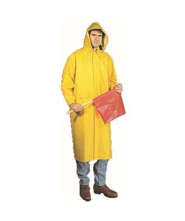 Mutual Industries 2-Piece PVC / Polyester Raincoat MUT14506-0-1-