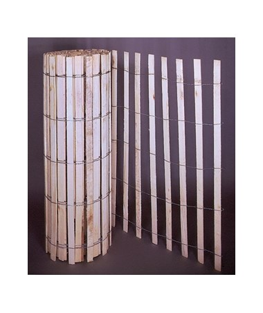 Mutual Industries Natural Wood Snow Sand Fence Tiger