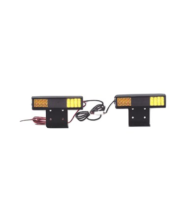 North American Signal Company 4-Split Lamps Rapid-Flash LED Deck Light TAG9LS-A