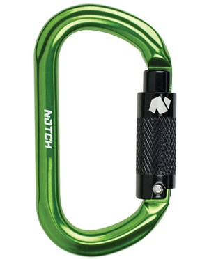 Triple-Action Auto-Locking Oval Carabiner NOT36677