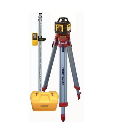Northwest Instrument NEXPK602 Self-Leveling Rotary Laser Exterior Package
