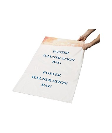 "Alvin Poster Illustration/Foam Core Bags (100 Per Box), 26"" x 38"" Size ALVPBF38"