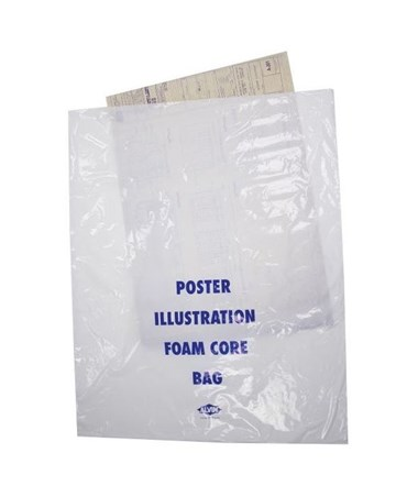 "Alvin 35""W x 45""L Poster Illustration/Foam Core Bag (100/Box) PBF45"
