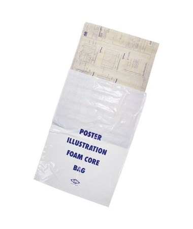 Alvin Poster Illustration/Foam Core Bags (100 Per Box) ALVPBF38-