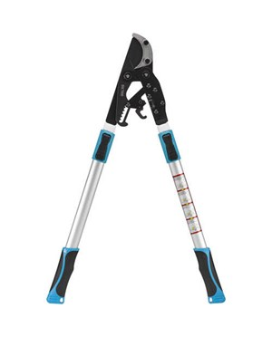 "Telescopic Ratchet Lopper with 2"" Curved Blade"