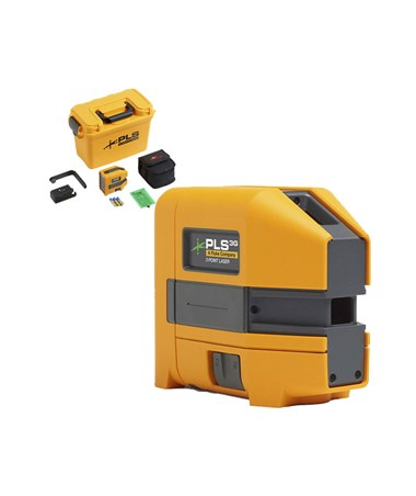 Pacific Laser Systems PLS 3G Green Beam 3-Point Laser Level PLS5009369-