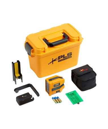 Pacific Laser Systems PLS 5G Green Beam 5-Point Laser Level Kit PLS5009414