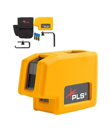 Pacific Laser Systems PLS3 Point Laser Level 60523