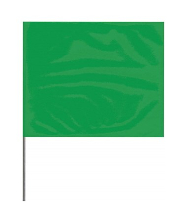 Solid Green Stake Flag PRE4521G