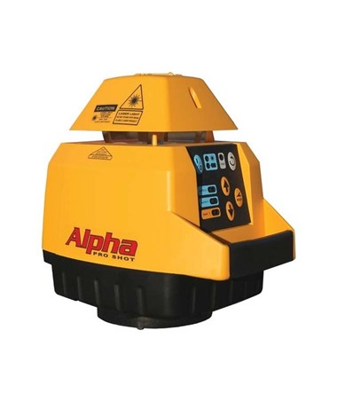 Pro Shot Alpha Series Self-Leveling Rotary Laser PRO020-0020P-