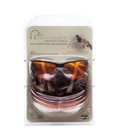 164dd6d4926c Ducks Unlimited Rendezvous Shooting Eyewear Kit Tiger Supplies