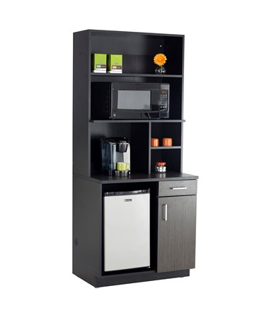 Safco Hospitality Appliance Hutch with Appliance Base Cabinet