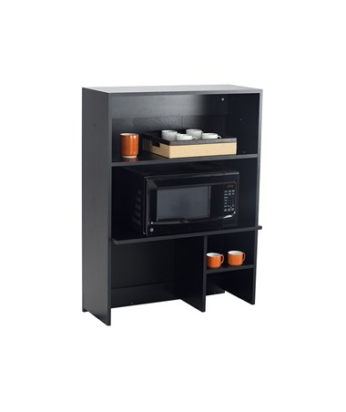 Safco Hospitality Appliance Hutch, Black 1706AN