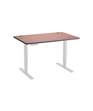 "Safco Height-Adjustable Tabletop, 48""W x 30""D Cherry 1895CY"