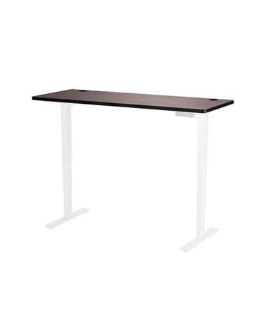 "Safco Height-Adjustable Tabletop, 60""W x 24""D Cherry 1890CY"