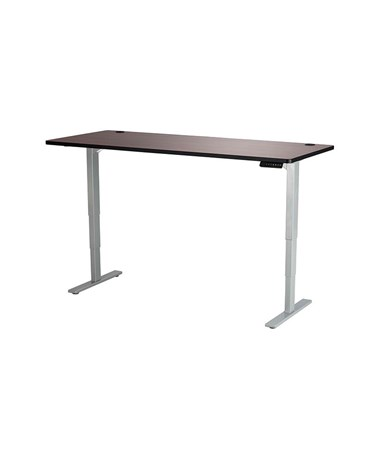"Safco Height-Adjustable Tabletop, 72""W x 30""D Cherry 1893CY"