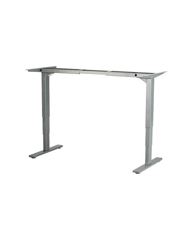Safco Electric Height-adjustable Table Base Gray 1909GR