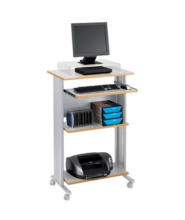 Safco Muv Stand-Up Desk Gray 1923GR