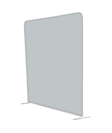 Safco Adapt 8 ft. Screen Graphic Configurable Space Divider Gray (1965GR & 1965SKGR)