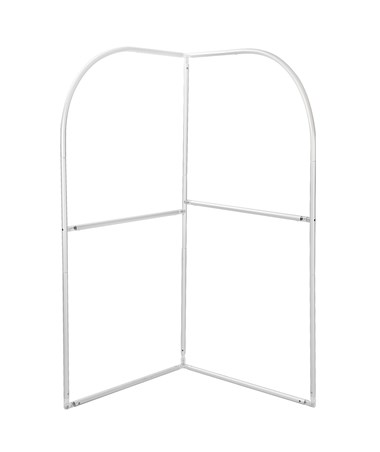 Safco Adapt Corner Screen Graphic Configurable Space Divider - Frame
