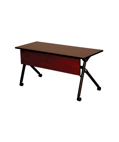 Safco Tango Nesting Table - Persian Cherry Top and Black Base 1996PCBL 1997PCBL
