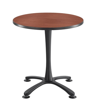 Safco Cha-Cha Sitting-Height X-Base Round Table