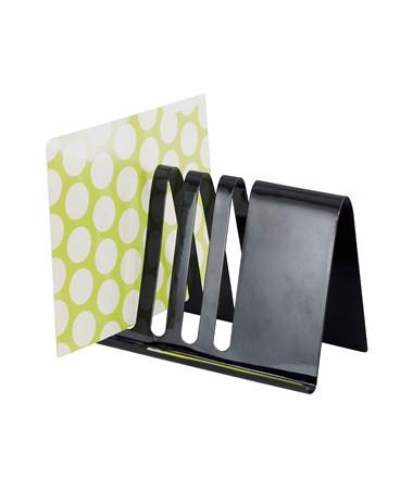 Safco Wave Combination Desk File and Document Holder SAF3222BL-