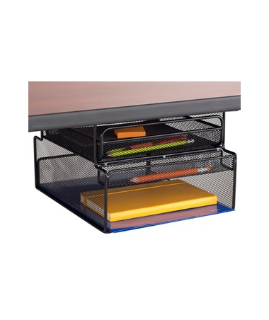 Safco Onyx Mountable Hanging Storage SAF3244BL