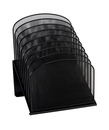 Safco Onyx 8 Tiered Sections Black