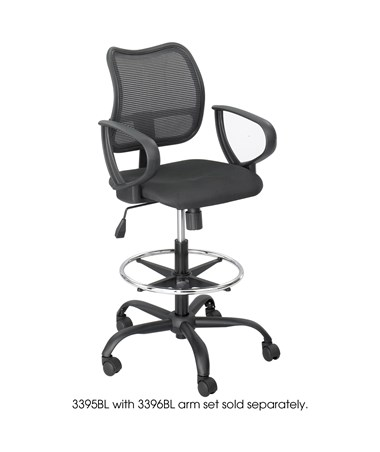 Safco Loop Arms for Vue Mesh Extended Height Chair SAF3396BL