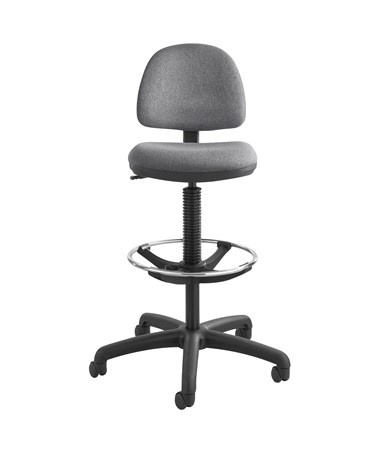 Safco Precision Drafting Chair with Footring Dark Gray 3401DG