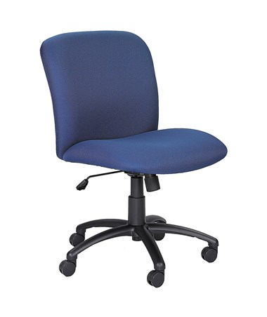 Safco Uber Big and Tall Mid-Back Chair Blue 3491BU