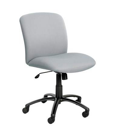 Safco Uber Big and Tall Mid-Back Chair Gray 3491GR