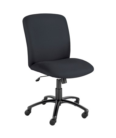 Safco Uber Big and Tall High-Back Chair Black 3490BL
