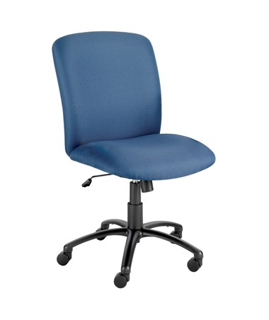 Safco Uber Big and Tall High-Back Chair Blue 3490BU