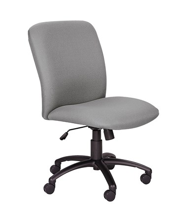 Safco Uber Big and Tall High-Back Chair Gray 3490GR