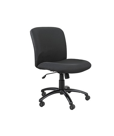 Safco Uber Big and Tall Midback Office Chair 3491BL