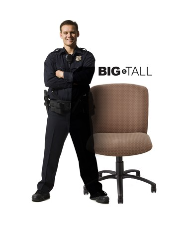 Safco Uber Big and Tall Guest Chair