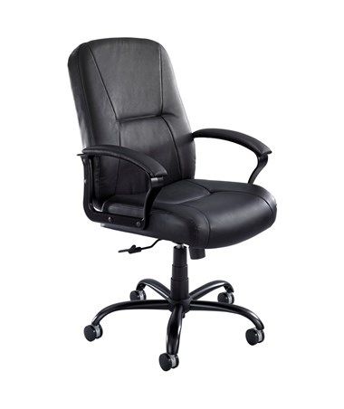 Safco Serenity Big and Tall Leather Chair