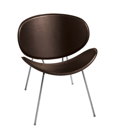 Safco Sy Guest Chair Brown - 3563BR