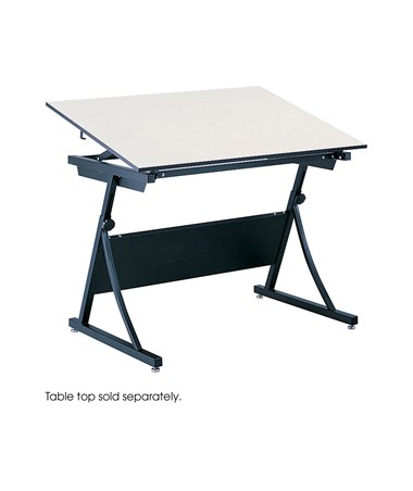 Base for Safco PlanMaster Height-Adjustable Drafting Table 3957
