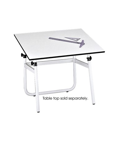 Safco Horizon Folding Drawing Table Base SAF3961