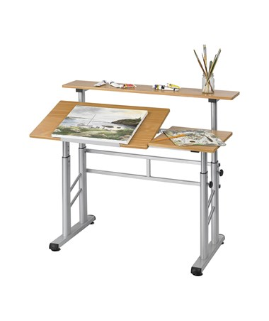 Safco Height-Adjustable Split Level Drafting Table SAF3965MO