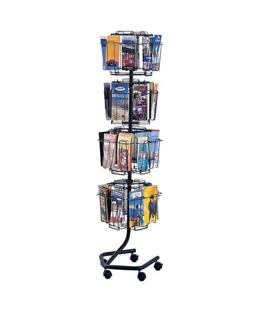 Safco Wire Brochure Display Rack