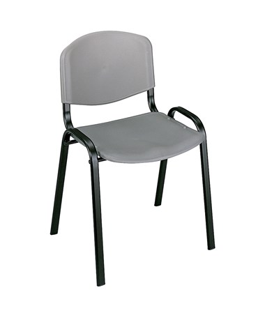 Safco Stack Chairs Charcoal 4185CH